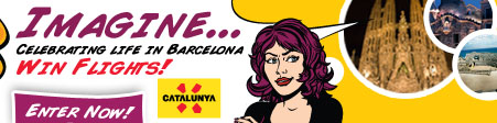 Celebrate life in Barcelona - Win Flights!