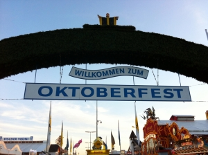 Jin would like to celebrate Octoberfest in Munich