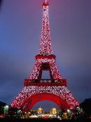 The Eiffel Tour looking CNY themed