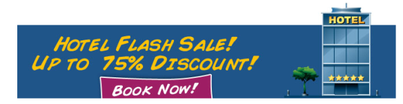 CheapTickets.sg Flash hotel sale up to 75% off