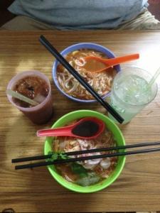Penang laksa Joo Hooi cafe