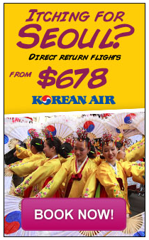 Fly to Korean for only $678 return on Korean Air. Book now at Cheaptickets.sg