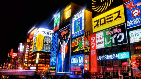 Shop it up in Dotonbori shopping district, Osaka, Japan