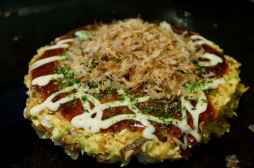 Feast on okonomiyaki in Osaka