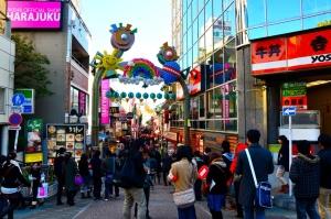 Enjoy two experiences at Harajuku, Tokyo, Japan