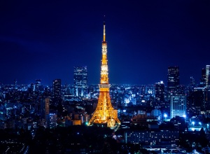 Have a bird's eye view of Japan from Tokyo Tower, Tokyo, Japan