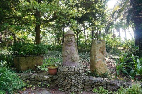Jeju stone figures