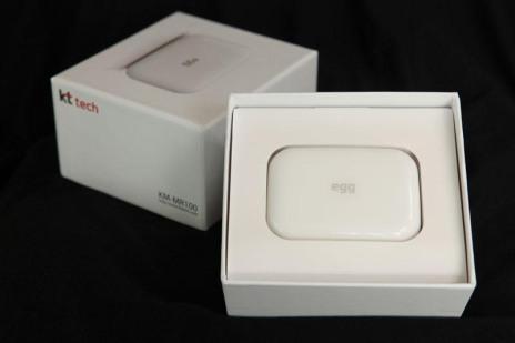 kt WiBro wifi egg Jeju
