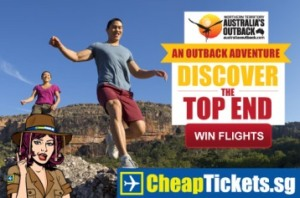 Win flights to Australia's Northern Territory with CheapTickets.sg