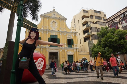 St Dominic's church Senado Square Macau