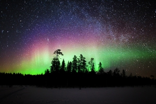 See the Northern Lights in Finland: Rovaniemi