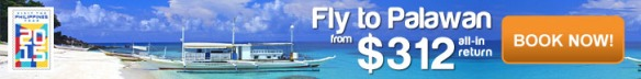 Get cheap flights from Singapore to Palawan from CheapTickets.sg