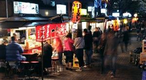Yatai Stalls in Fukuoka- Kyushu