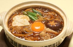 Misonikomi noodles in Nagoya