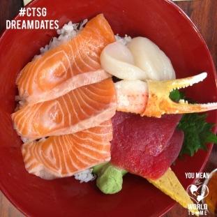 CTSG dreamdate-Tokyo fish market