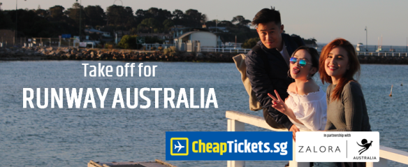 Take off for Runway Australia with CheapTickets.sg and ZALORA