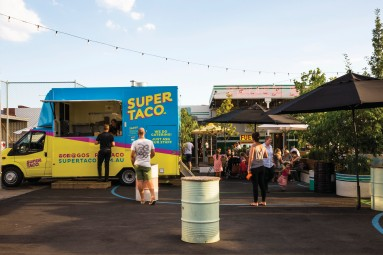 Melbourne Food trucks