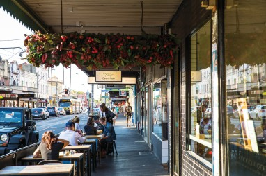 Smith Street cafes, Collingwood